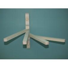 Вешалка веерная  4 крючка (прямая)
