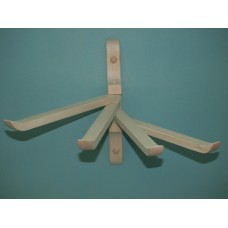 Вешалка веерная  4 крючка